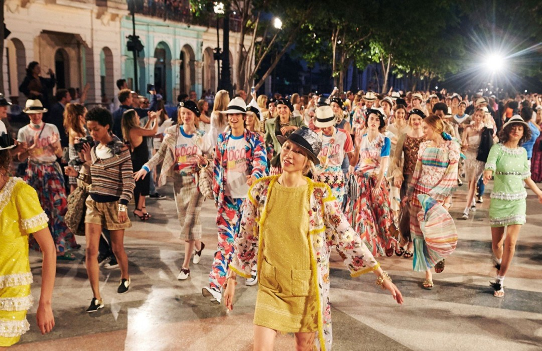 Chanel hosts first-ever Fashion Show in Cuba