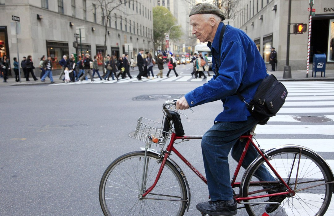 Bill Cunningham, the Legendary Fashion Photographer
