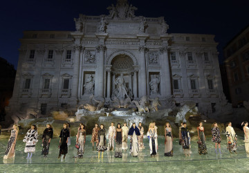 Inside Fendi´s breathtaking show!