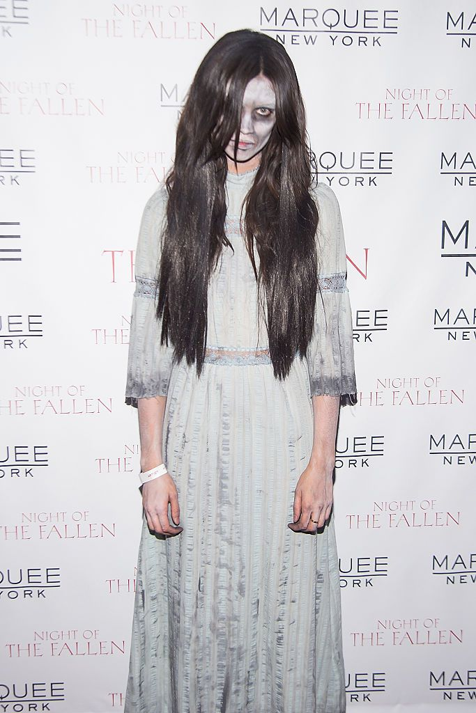 Model Sara Sampaio as one of the fallen (Photo: Getty Images)