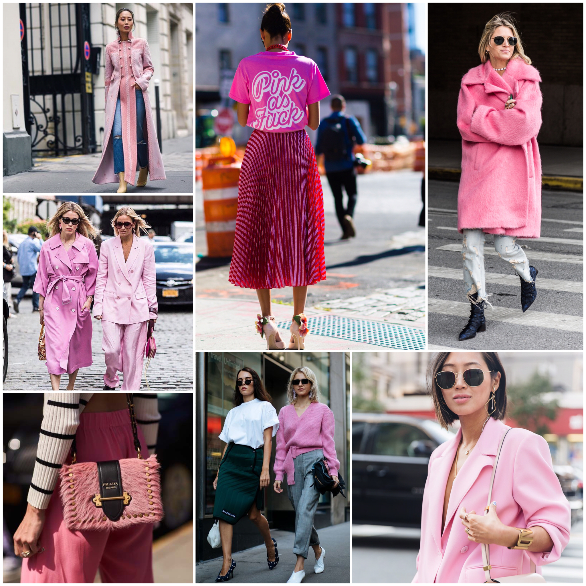 Fashion Week hottest color right now - Pink