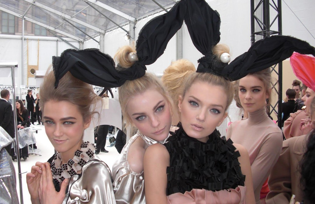 Happy Easter Fashion Bunnies!