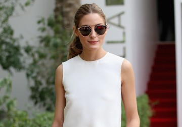 Olivia Palermo Polka dot look for less