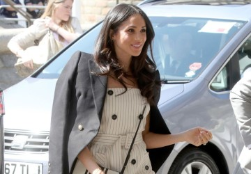 Meghan Markle look for less