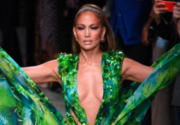 J. Lo Closes Versace's show creating the most talked moment from Milan Fashion week 2019