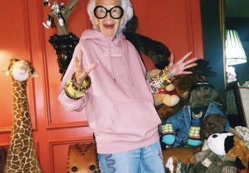 Get the cool look of the style icon Iris Apfel