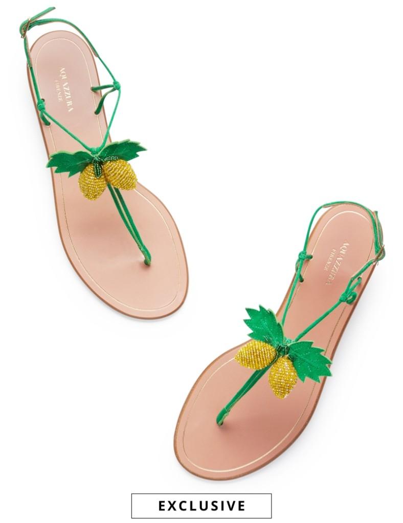 Limoncello Sandal Flat $595