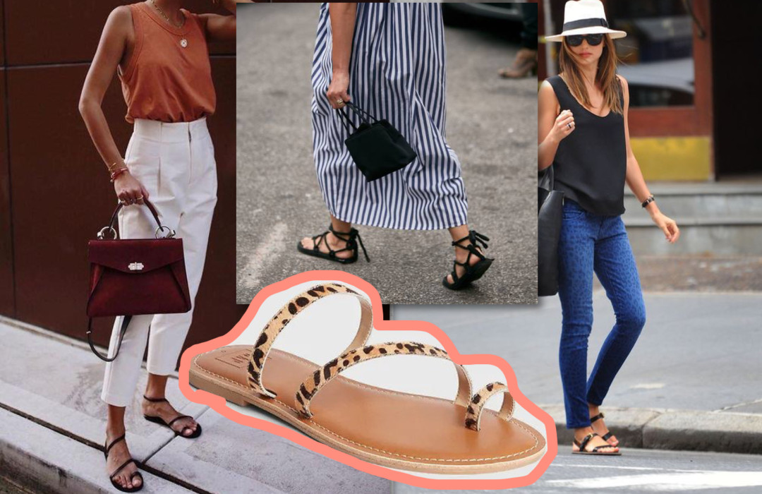 6 sandals that are perfect for summer