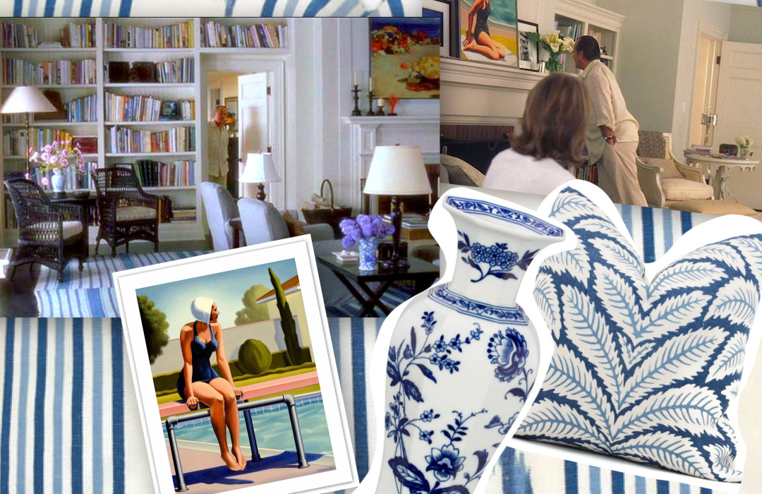 "How to recreate ""Something's Gotta Give"" Hamptons beach house"