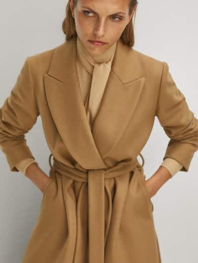 Massimo Dutti Wool Coat $349.00