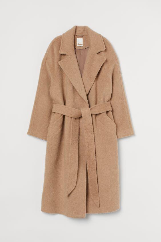 H&M Wool-blend Coat $199.00