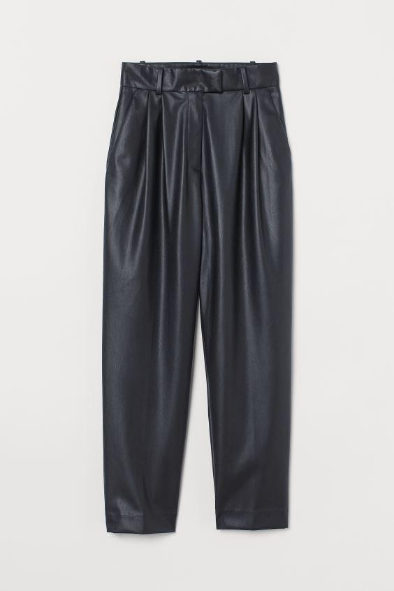H&M Faux Leather Pants $34.99