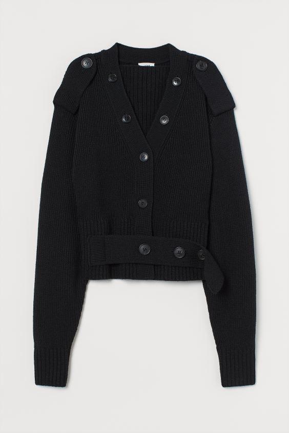 H&M Knit Wool-blend Cardigan $99.00