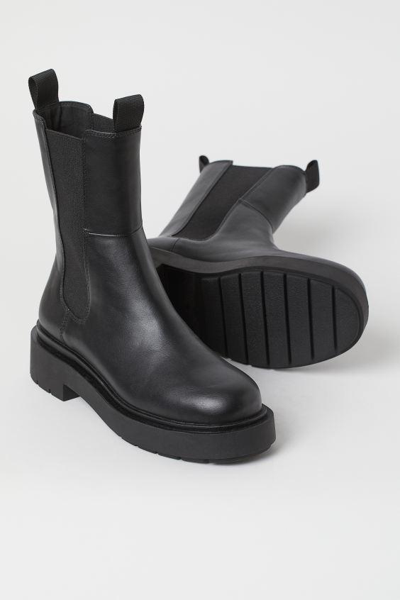 H&M Chelsea Boots $39.99