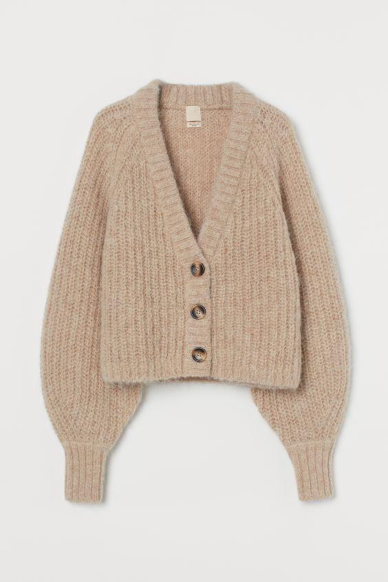 H&M Wool Cardigan $59.99