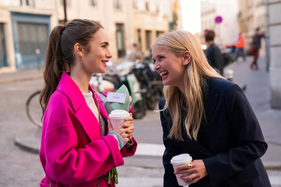 Emily in Paris, a modern fairytale