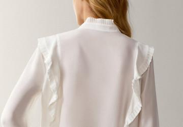 Three ways to style a white shirt