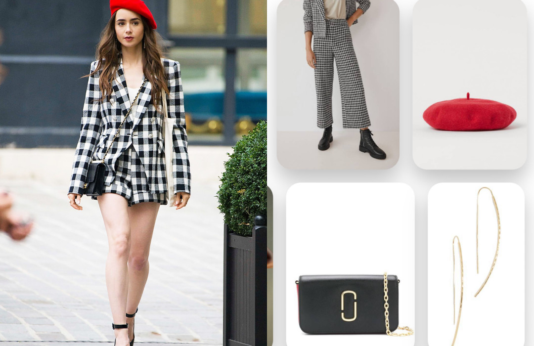 This Week outfit inspo by the Netflix series Emily in Paris