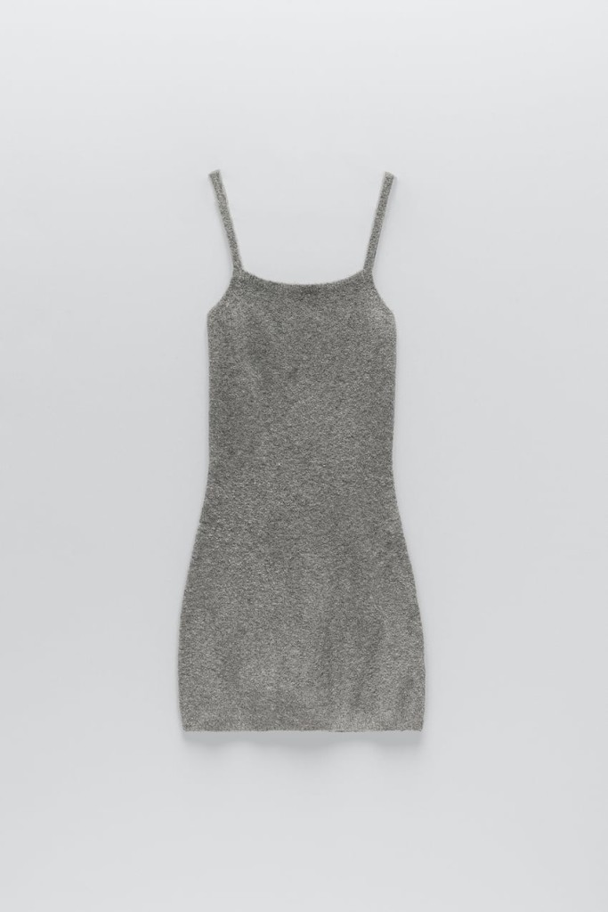 Zara Knit Mini Dress $35.90