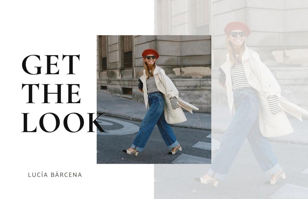 Get the look of Lucía Bárcena