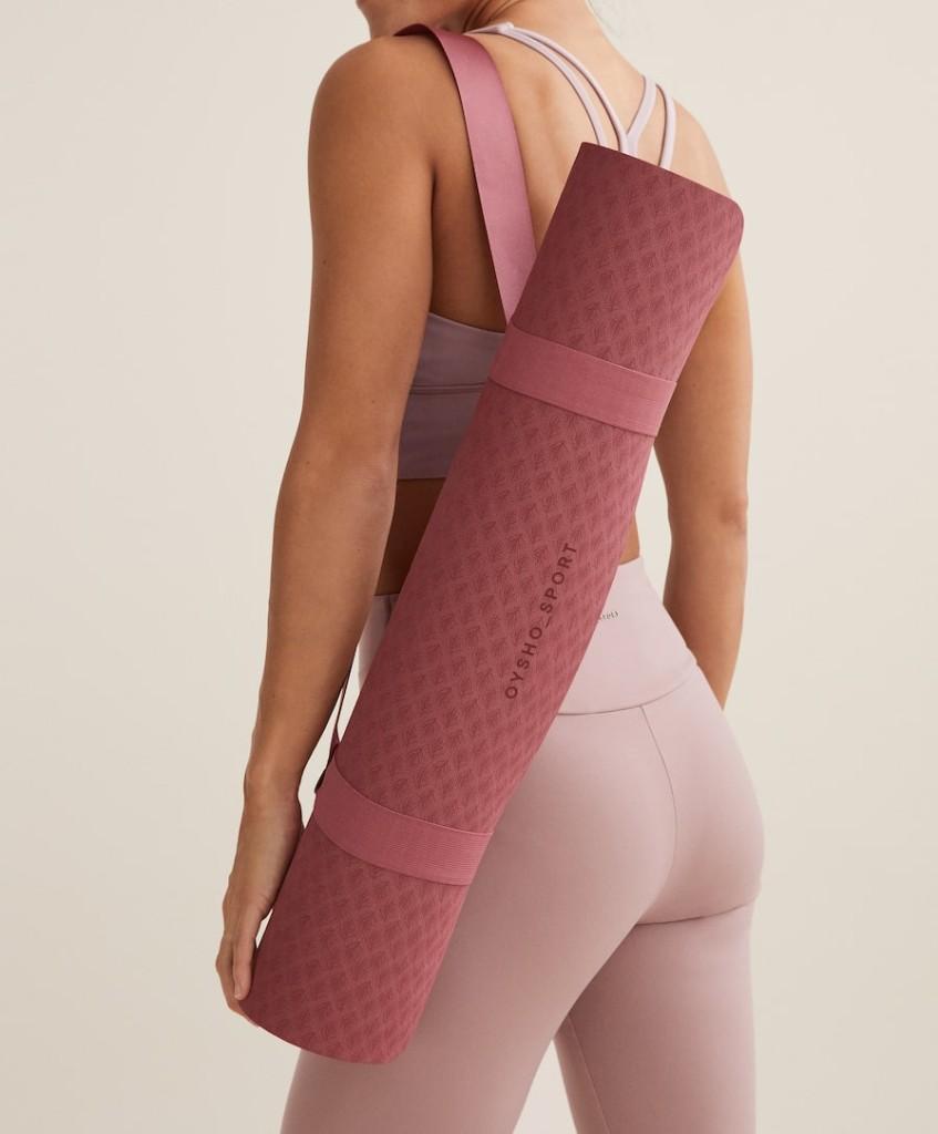 Yoga mat Oysho $49.90