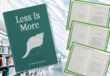 """Less is more"": 101 ways to simplify your life by Domonique Bertolucci"