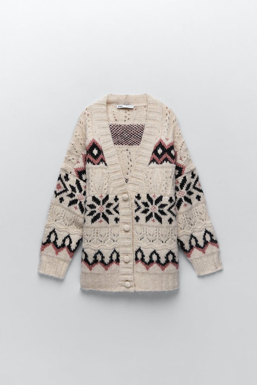 Zara Knit Coat $69.90