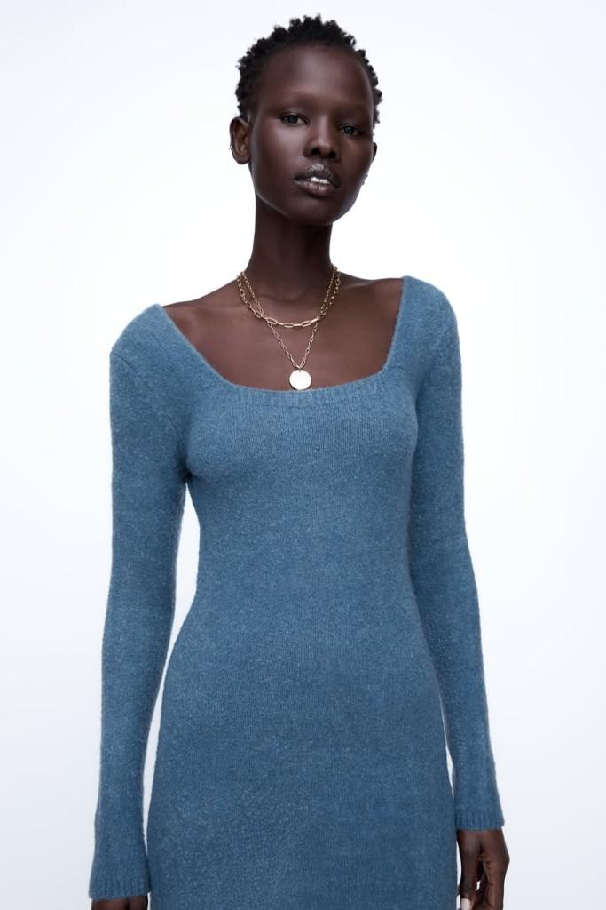 Zara Knit Mini Dress $39.90