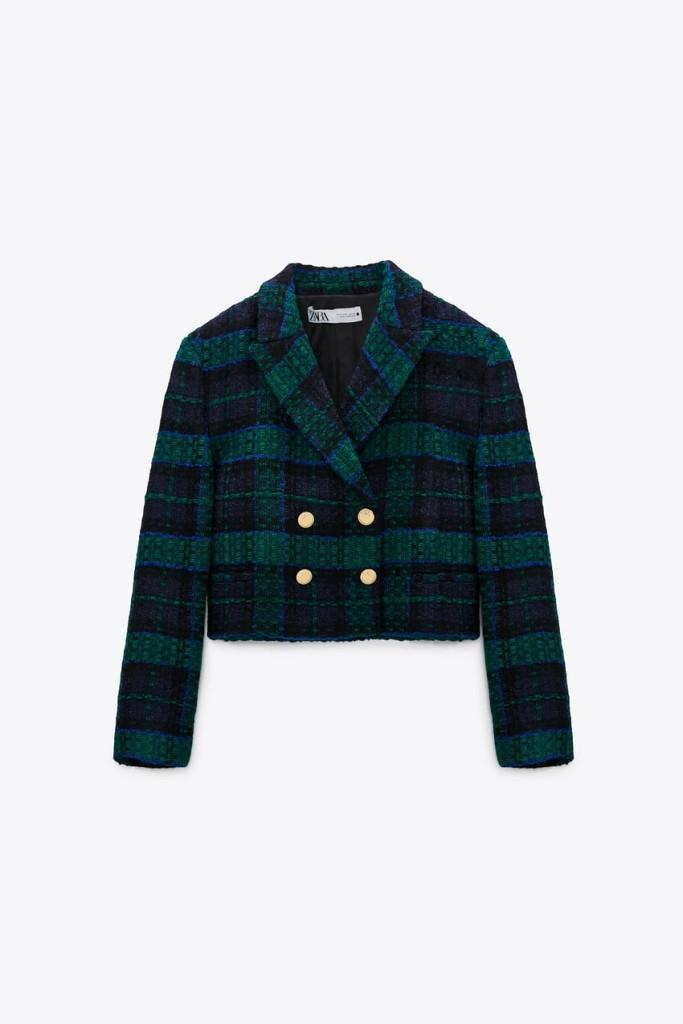 Zara Cropped Blazer $119.00