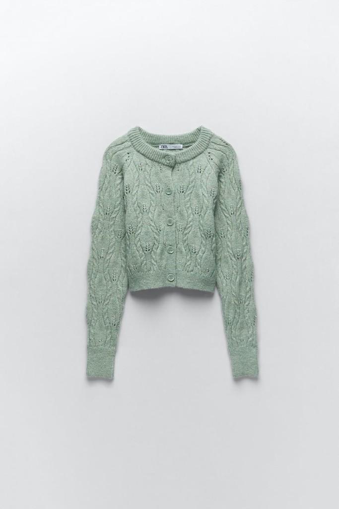 Zara Knit Jacket $39.90