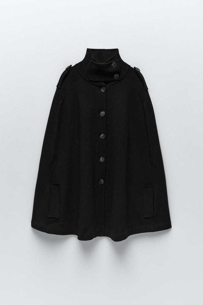 Zara Knit Cape $69.90