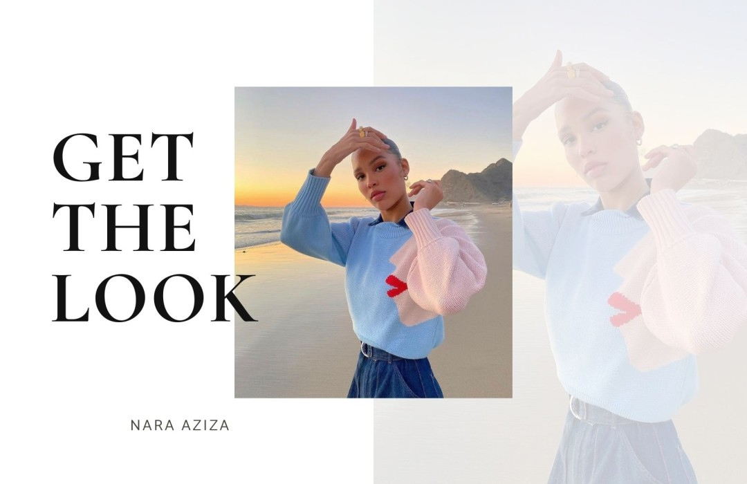 Get the look of Nara Aziza