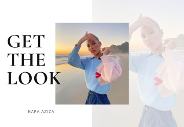 Get the look of Nara Aziza
