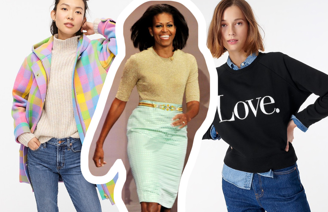J. Crew one of Michelle Obama's go-to brand