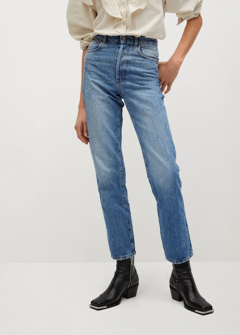 Mango Faded Relaxed Jeans $39.99