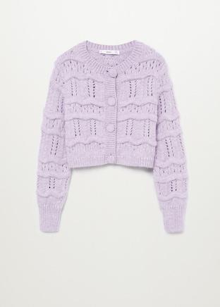 Mango Chunky Knit Cardigan $39.99