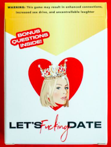 Let's Fucking date card game $25.00