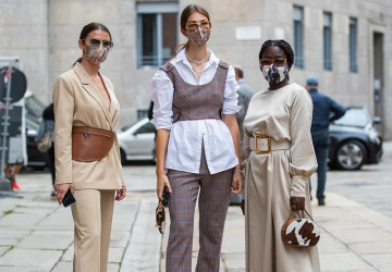 The most stylish face masks in the market