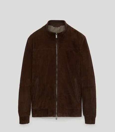 Massimo Dutti Suede Jacket $349.00