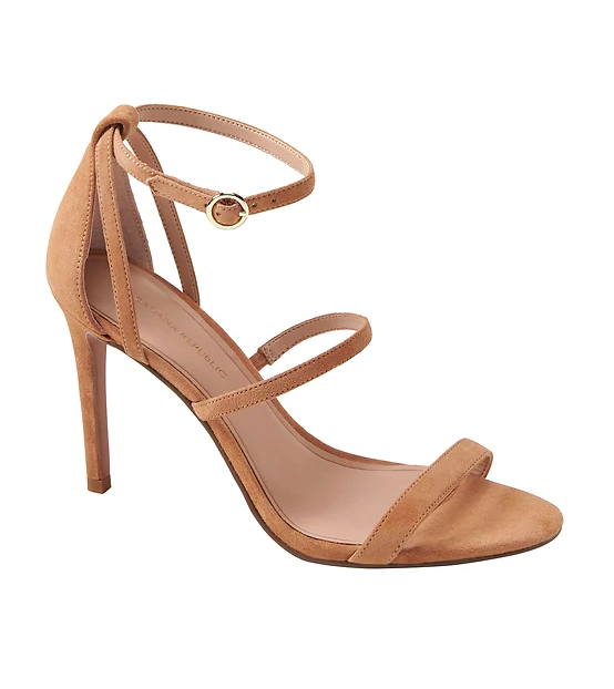 Banana Republic high heel sandals $118.00