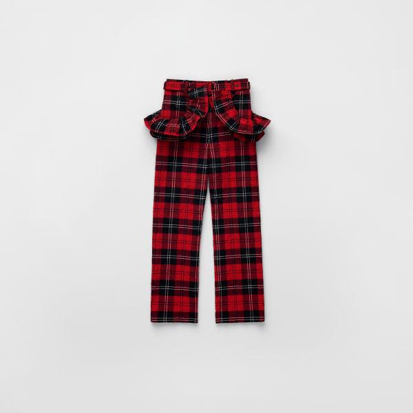 H&M Flounce-trimmed Crop Pants $119.00