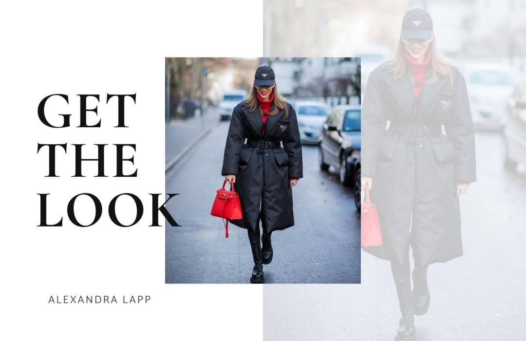 Get the look of Alexandra Lapp
