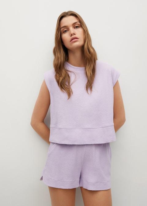 Mango Cotton T-shirt $29.99