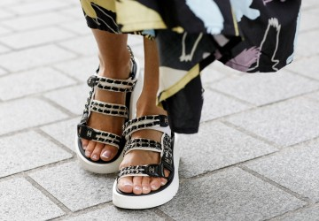 Love it or hate it, the sandals of this season