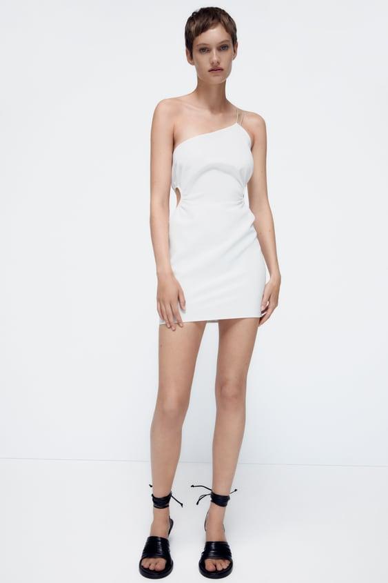 Zara Aymmetric Dress $45.90