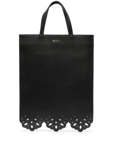Bapy Cut-out Detail Leather Tote Bag $97.00