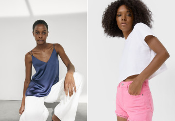 Cute short and top combinations for hot days