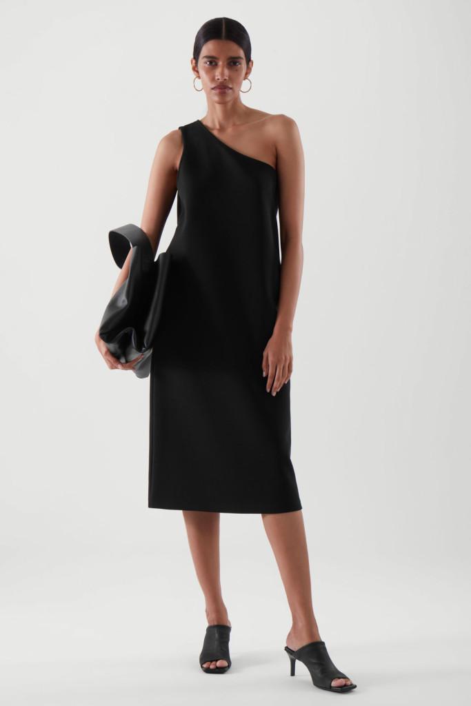 COS One-Shoulder Dress $99.00