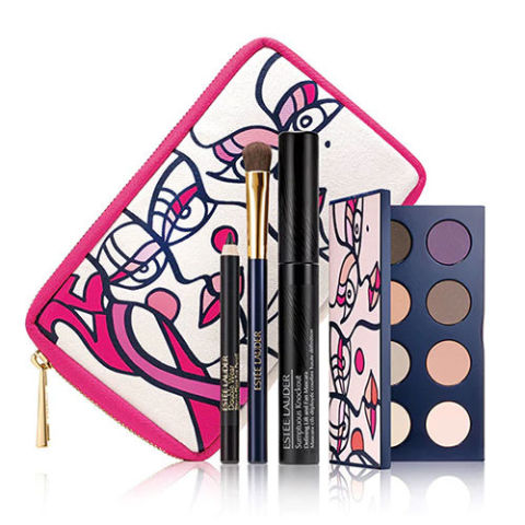 Pink Ribbon Knockout Eyes Collection from Estée Lauder  $35,00 Estée Lauder will donate 100% of the suggested retail price (not just the profits) of the palette to the Breast Cancer Research Foundation from September 2017 through June 2018. BCRF is a grant-making organization that funds efforts in prevention, cure, and treatment research, with an impressive 91% of donations going directly to these causes.
