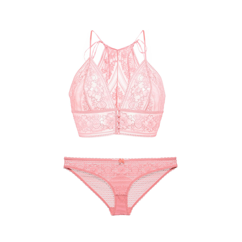 Stella McCartney Ophelia Whistling Soft Cup Bra, $160 Proceeds benefit Memorial Sloan Kettering Breast Examination Center of Harlem and The Linda McCartney Centre in Liverpool